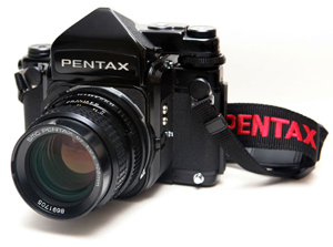 Pentax 67 with SMC 67 105mm 1:2.4