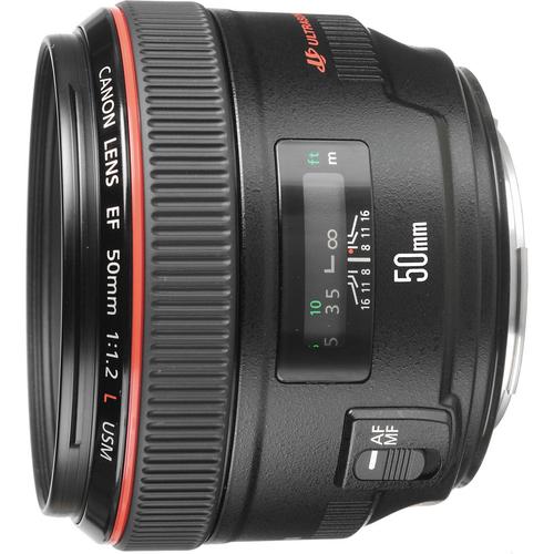Canon EF 50 f/1.2 L