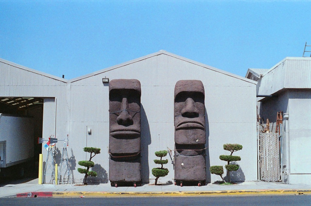 Easter Island Heads from Omega Cinema Props