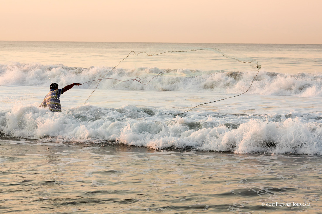 Desi Baytan Photography, Picture Journals, Cast Net, Net Fishing, Cabo San Jose