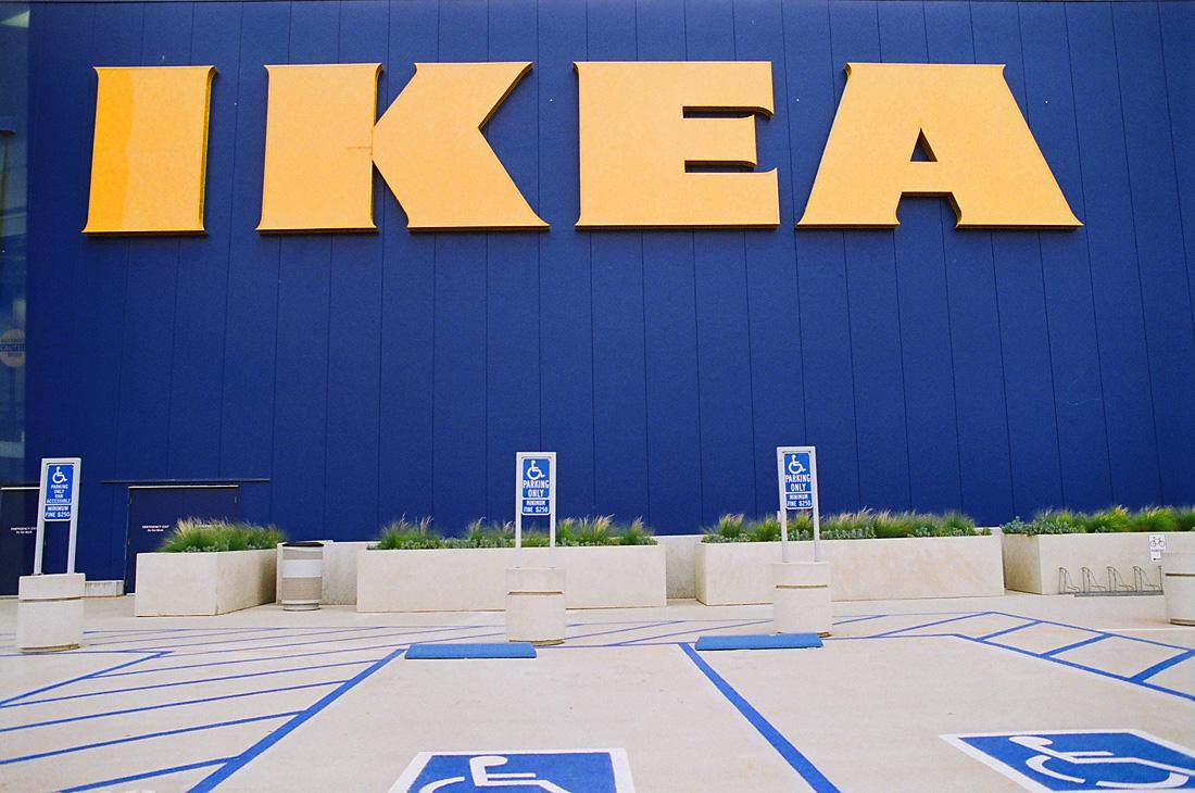Large Ikea Sign