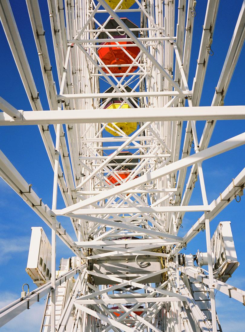 On Top Of The Santa Monica Ferris Wheel