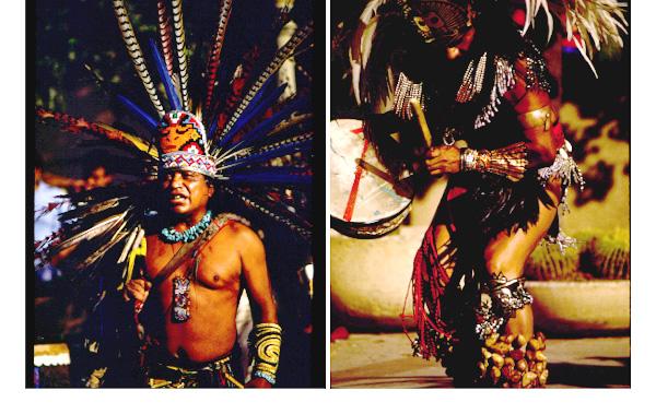 Aztek Dancers, Balboa Park, San Diego